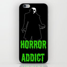 Horror Addict iPhone Skin