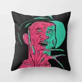 Freddy Kreuger Throw Pillow