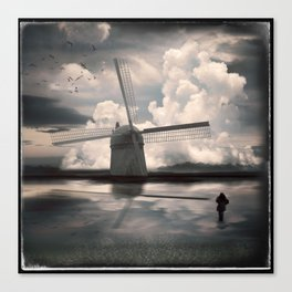 Muddy Waters, Fresh Wind Canvas Print