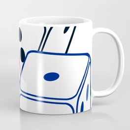 Bunco Dices V6S2 Coffee Mug