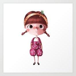 I de Tina Art Print