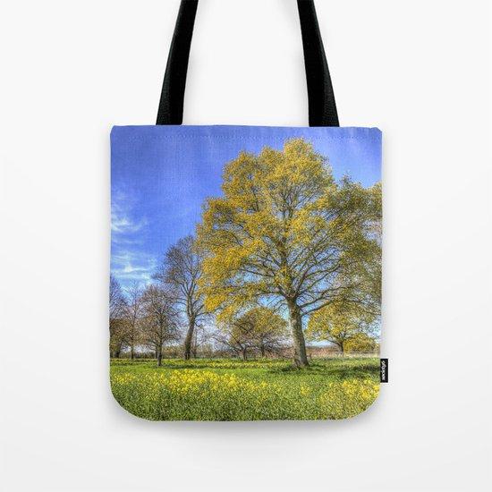 Summertime Farm England Tote Bag