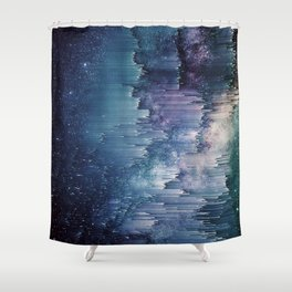 Iced Galaxy Shower Curtain