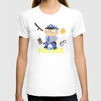 police T-shirts featuring Police by Alapapaju