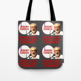 Jeremy Corbyn - Things Can Change (Labour) Tote Bag