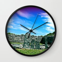 Old Stones Wall Clock