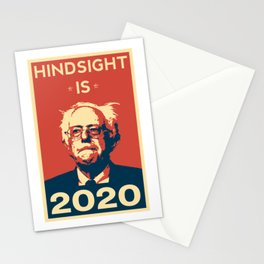 Hindsight is 2020 Bernie Sanders Stationery Cards