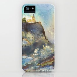 The Splash at Split Rock iPhone Case