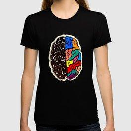Left Brain, Right Brain T-shirt