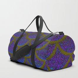 Dandelion Denim Scales Duffle Bag