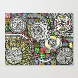 The Patterns Canvas Print