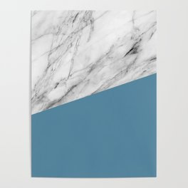 Marble and Niagara Color Poster