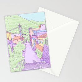 Another everyday place in Japan Stationery Cards