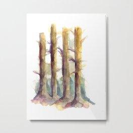 woodsy Metal Print
