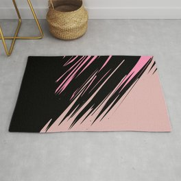 abstract / cut my love into pieces Rug