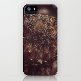 Dead Flower iPhone Case