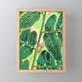 party fern Framed Mini Art Print