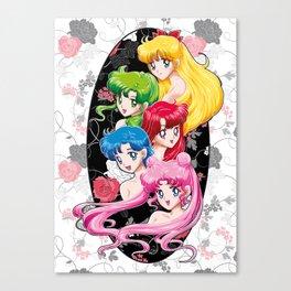 Sailor Senshi - Uncovered (Original Color Edition) Canvas Print