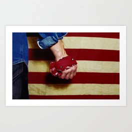 Born in the USA Art Print