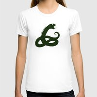 slytherin T-shirts featuring Slytherin by Caleb Cowan