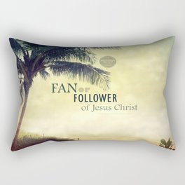 FAN or FOLLOWER? Rectangular Pillow