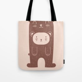 WILD + BEAR print Tote Bag