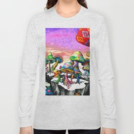 Mushroom Paradise Long Sleeve T-shirt