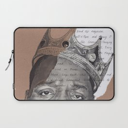 The Notorious BIG Laptop Sleeve