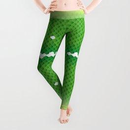 "Green Tree Python ""Aru"" Leggings"