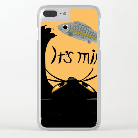 It is mine Clear iPhone Case