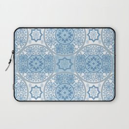 Blue lace Laptop Sleeve