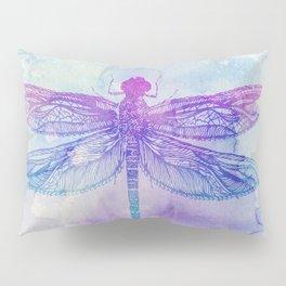 Mandala Dragonfly Pillow Sham