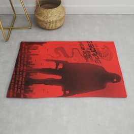 Escape from New York art Rug