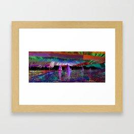 sailing today Framed Art Print