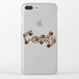 Candy Sprites Clear iPhone Case