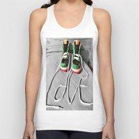 sneaker Tank Tops featuring Sneaker Love by SefoG