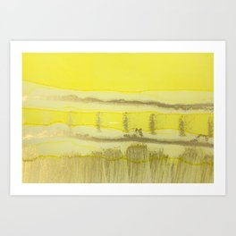 Prairie Afternoon Art Print
