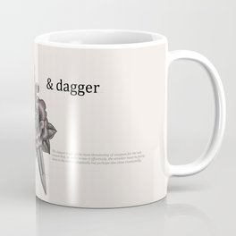 Rose & Dagger Coffee Mug