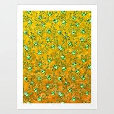 Frog Festival Art Print