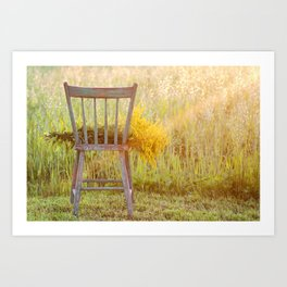 Remnants of a Summer Day Art Print