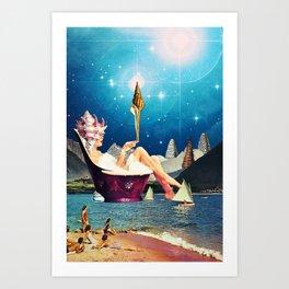 Thetis Art Print