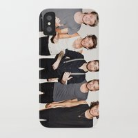 one direction iPhone & iPod Cases featuring One Direction by Max Jones