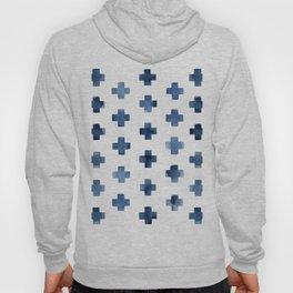 Crosses Scandinavian Pattern Hoody