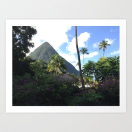 St Lucia Art Print