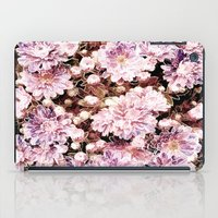 rose gold iPad Cases featuring Rose And Gold Floral by J&C Creations