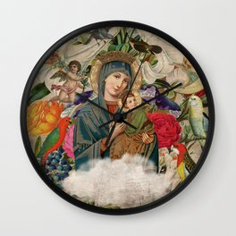 Saints Collection -- Madonna And Child Wall Clock