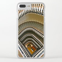 Stairs of the Palace, Lisbon, Portugal Clear iPhone Case