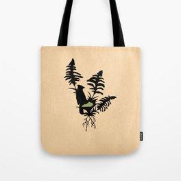 Kentucky - State Papercut Print Tote Bag