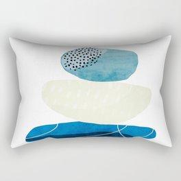Pebbles & wire Rectangular Pillow