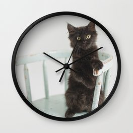 Meatball on the chair Wall Clock